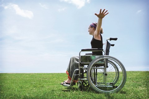 Girl-in-Wheelchair-in-the-Outdoors