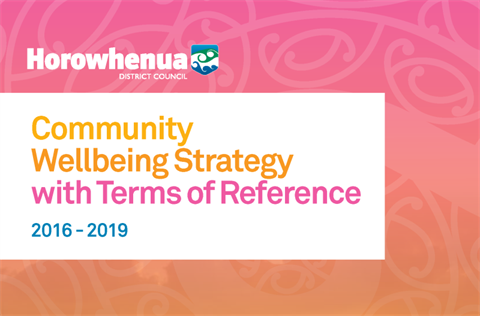 HDC Community Wellbeing Strategy 2016-2019 thumbnail.