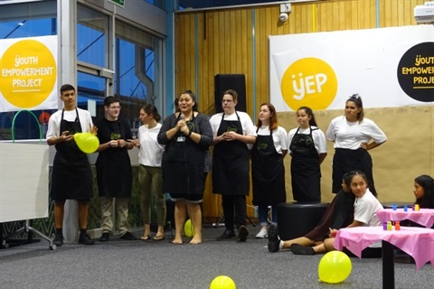 Here is a group picture of our talented ÿEP leaders, who are working hard advocating for Horowhenua youth.