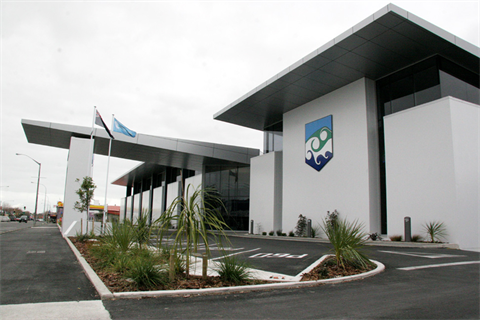 Miscellaneous  Fees & Charges - Outside view of the Horowhenua Council building.