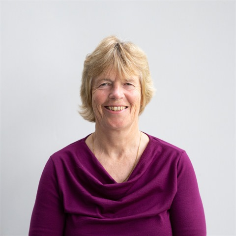 Profile image of Councillor Christine Mitchell.