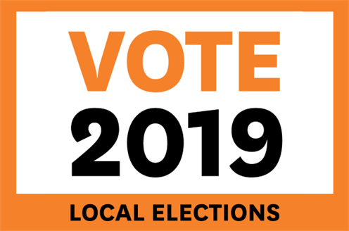 Vote 2019 Local Elections.