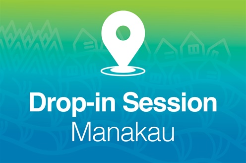 Drop-in Session Manakau - 28 July 2019.