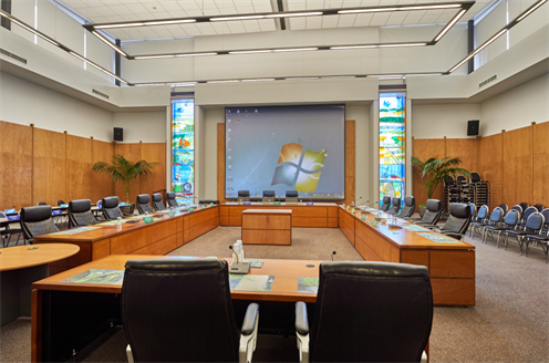 Council Chambers.