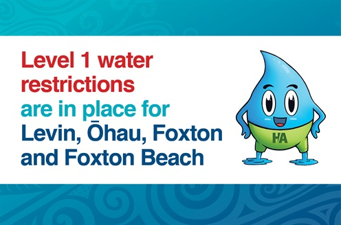Water Restrictions Level 1 All Locations.